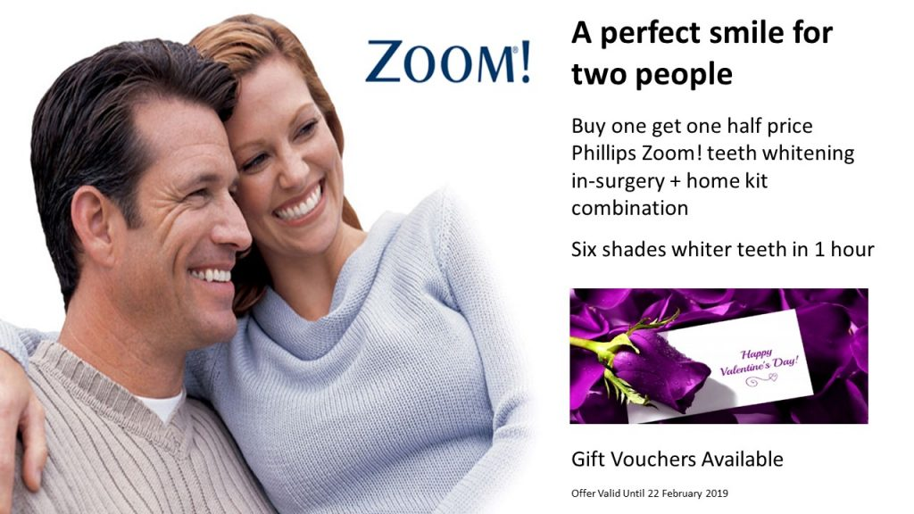 Buy one get one half price In-Surgery + Home Kit Whitening Combination Technique