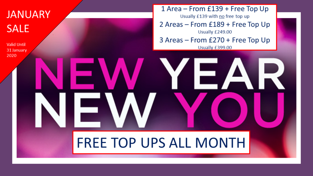 Facial Aesthetics Weston-Super-Mare | Dental Spa 25 | Free Top Ups | New Year New You