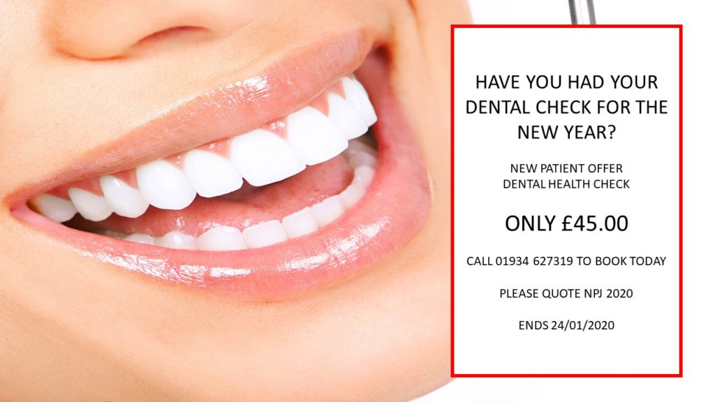 New Year New You | Dental Health Check - Now Only £45 | We Are Welcoming New Patients In Weston-Super-Mare | Dental Spa 25