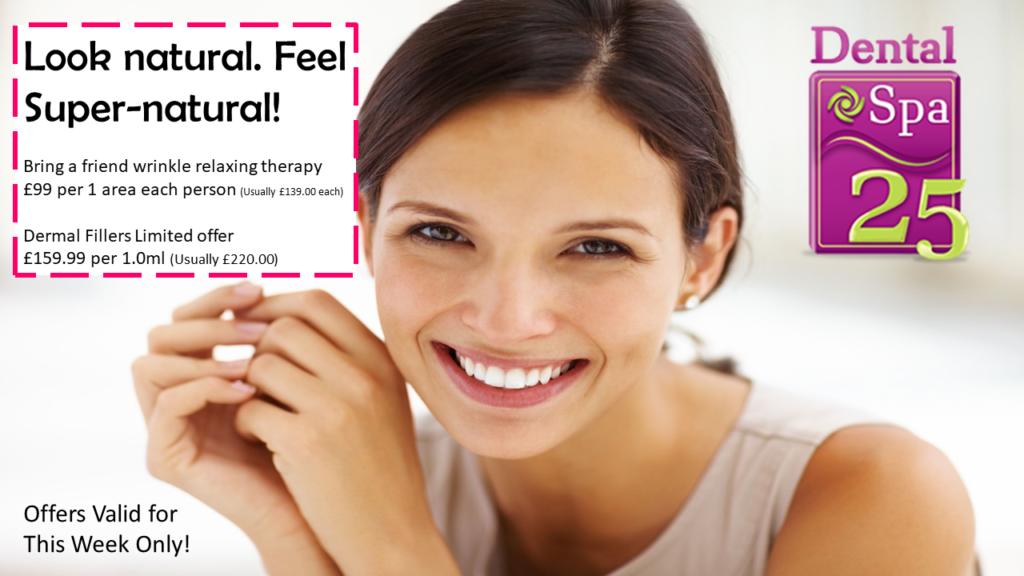 February 2020 One Week Offer - Wrinkle Relaxing and Dermal Fillers | Weston-Super-Mare Somerset | Dental Spa 25