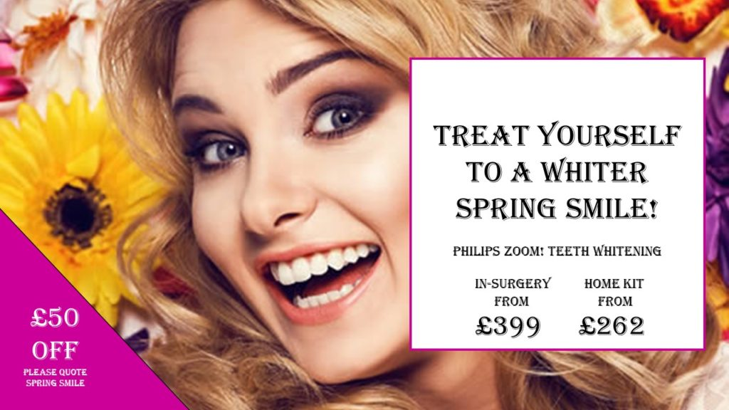 £50 Off Teeth Whitening | Dental Spa 25 | Weston-Super-Mare